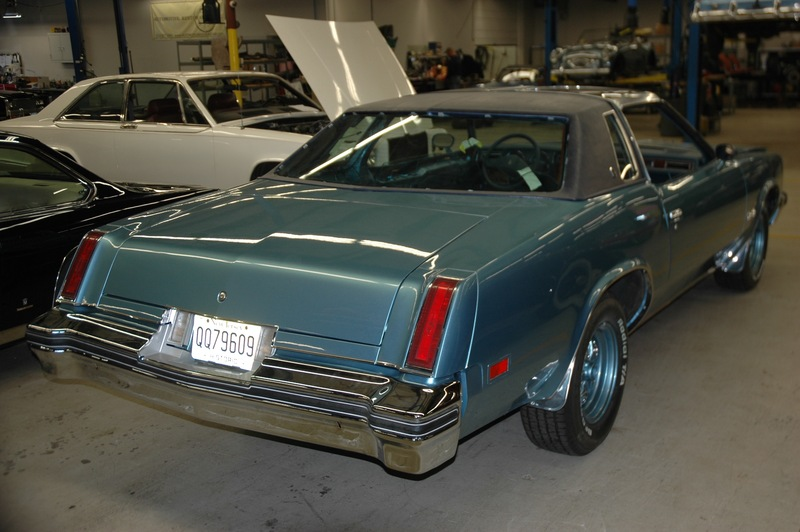 1977 cutlass salon complete restoration by automotive for 1977 cutlass salon