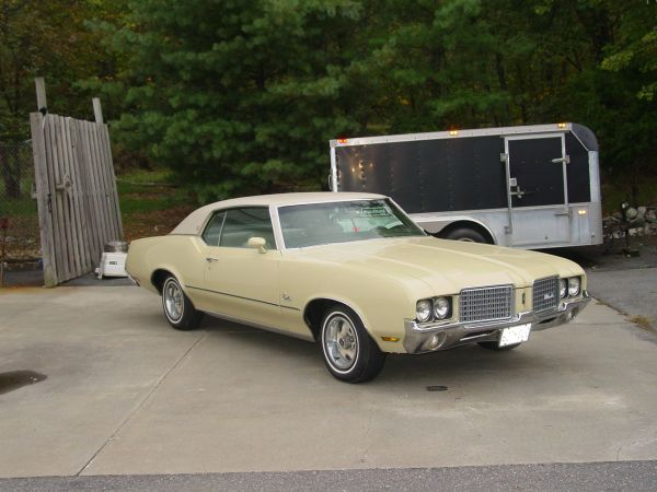 1972 Oldsmobile Cutlass Supreme Hanover Ma