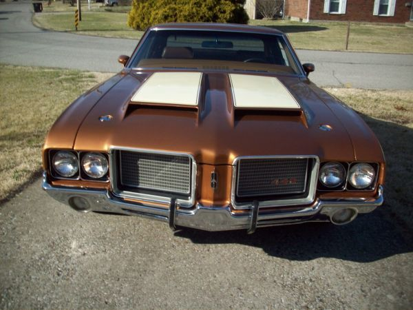 72 olds cutlass supreme console