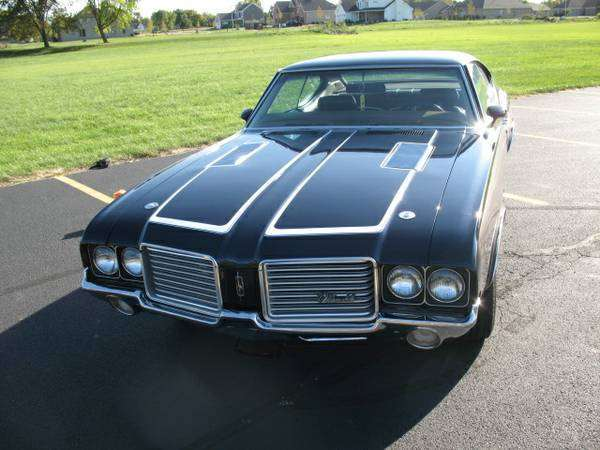 72 olds 442 grille