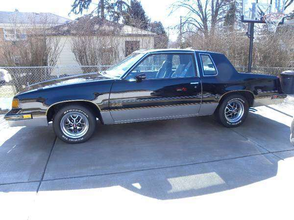 1987 Oldsmobile Cutlass 442 With T Tops