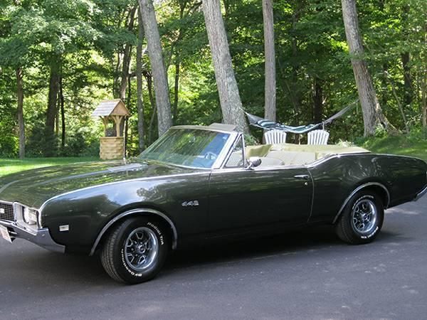 1968 Olds 442 Convertible (Needham, MA ...