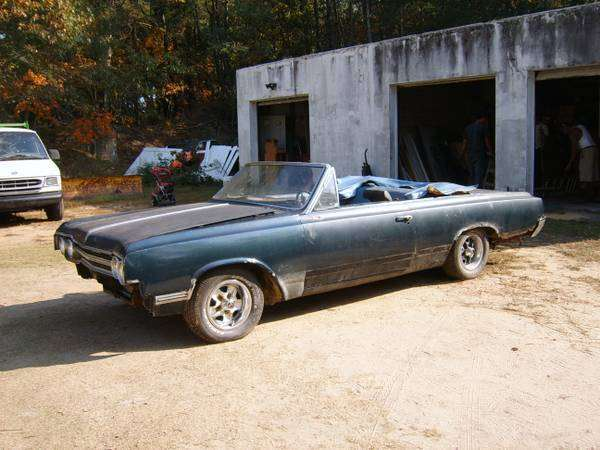 65 olds 442 convertible for sale