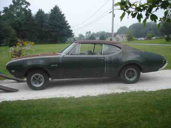 Cars For Sale In Ri >> 1968 442 number matchin project (Providence, RI) | OldsmobileCENTRAL.com