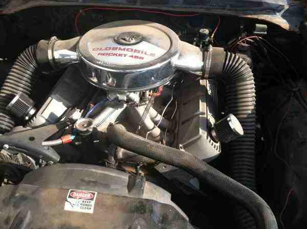 1970 Oldsmobile Cutlass S Race Car Yukon Ok