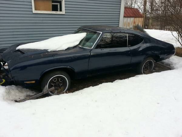 1970 oldsmobile cutlass project car waukesha wi. Black Bedroom Furniture Sets. Home Design Ideas