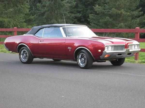 Car Insurance Estimator >> 1969 Oldsmobile Cutlass Convertible (Portland, OR ...