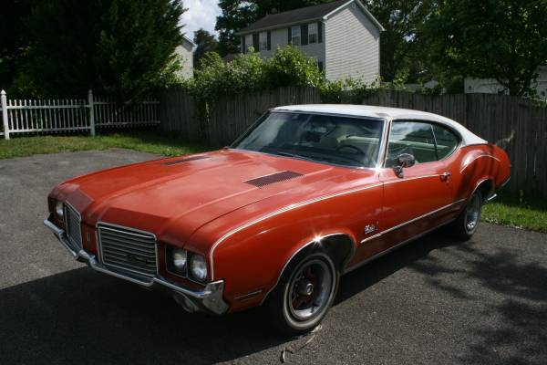 Cutlass S on 1972 oldsmobile 350 engine