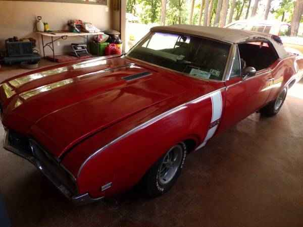 1968 Oldsmobile 442 Convertible project
