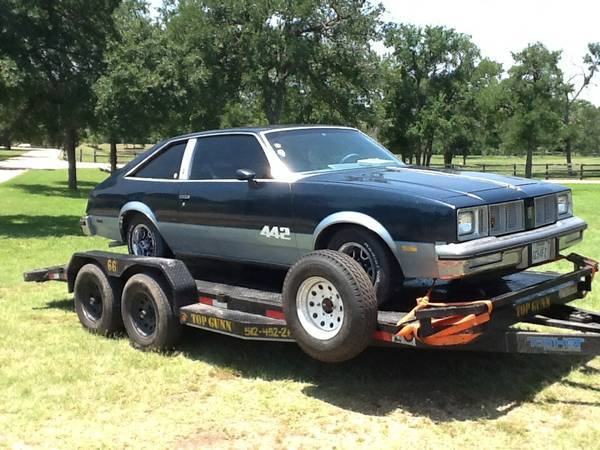1978 oldsmobile 442 austin tx for 78 cutlass salon