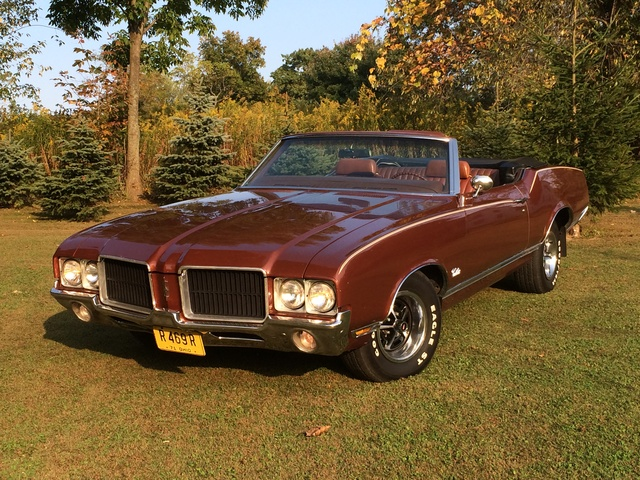 1971 Cutlass Supreme Convertible Salem Oh