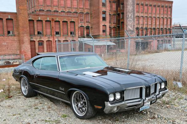Pro Touring 1972 Oldsmobile Cutlass S