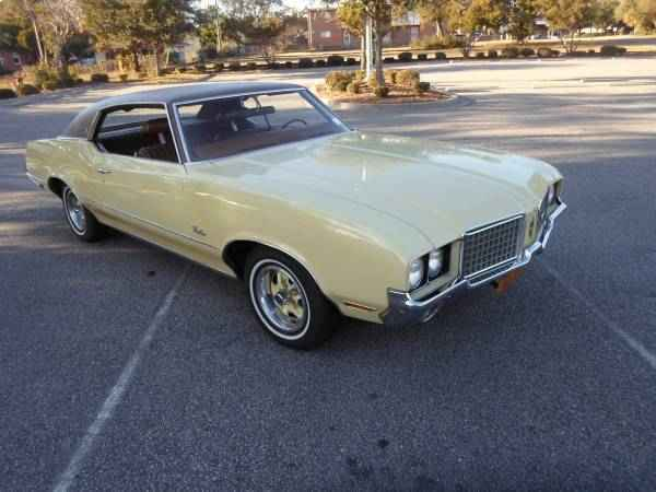 Cutlass Supreme on 1972 oldsmobile 350 engine