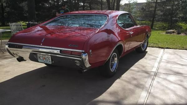 1968 442 4 Speed