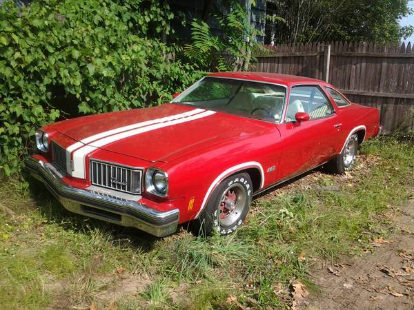 1975 olds 442 muskegon il for 1975 oldsmobile cutlass salon for sale
