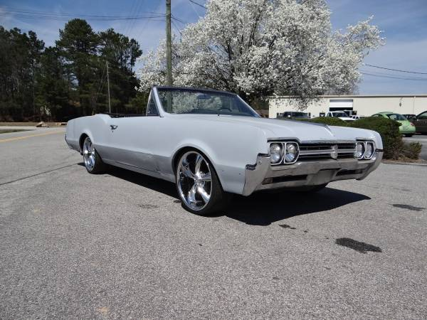 1966 Oldsmobile Cutlass Convertible Lawrenceville Ga