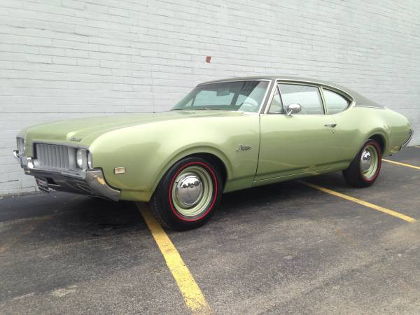 1969 Olds F85 Cutlass Low Miles Youngstown Oh
