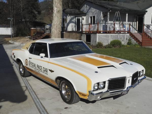 Car Values By Vin >> 1972 Hurst Oldsmobile Pace Car (Santa Rosa, CA) | OldsmobileCENTRAL.com