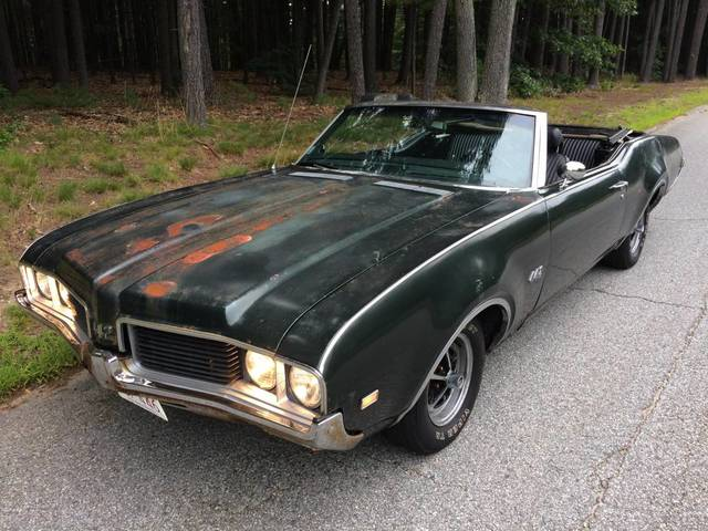 1969 Olds 442 Convertible Chelmsford Ma
