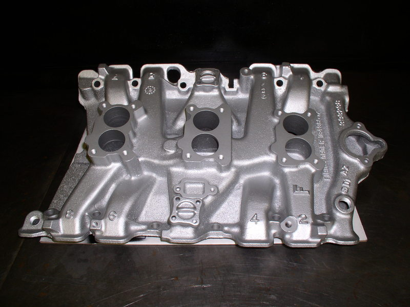 1966 Olds L69 Tri power Tri carb intake and 4 carbs   Forums