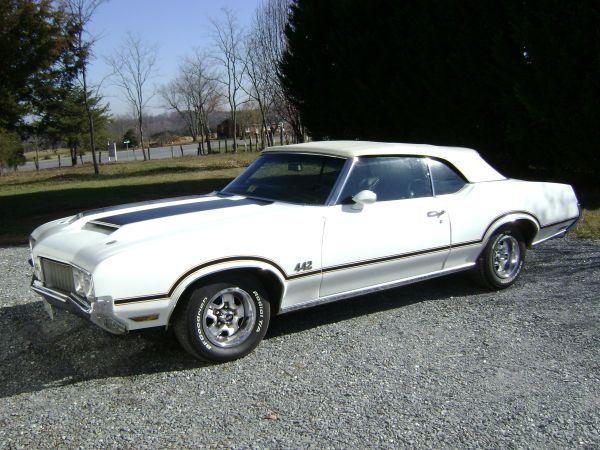 1970 442 Convertible