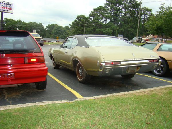 1968 Olds Cutlass all original