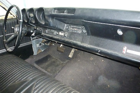 1968 Olds Cutlass S Post Car