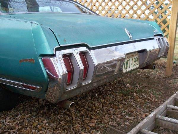 1970 Original Cutlass Supreme
