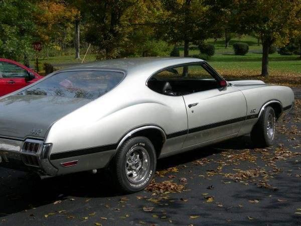 1972 Olds 442 W-30 X-code