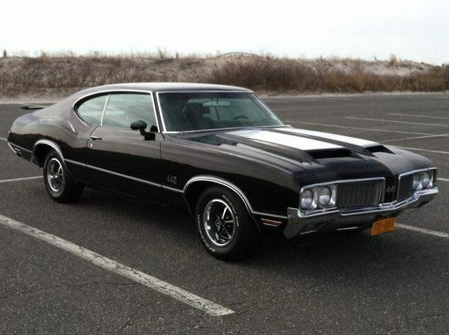 1970 Black 442 Long Island Ny Oldsmobilecentral Com