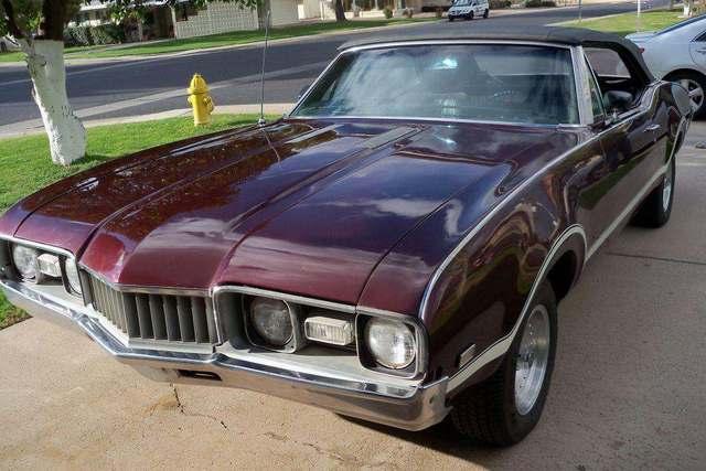 1968 Cutlass S Convertible