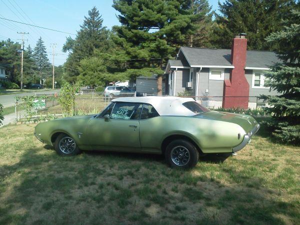 1968 Cutlass S Drop Top