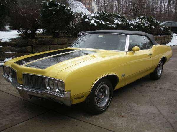 1970 Cutlass Convertible 442 Clone