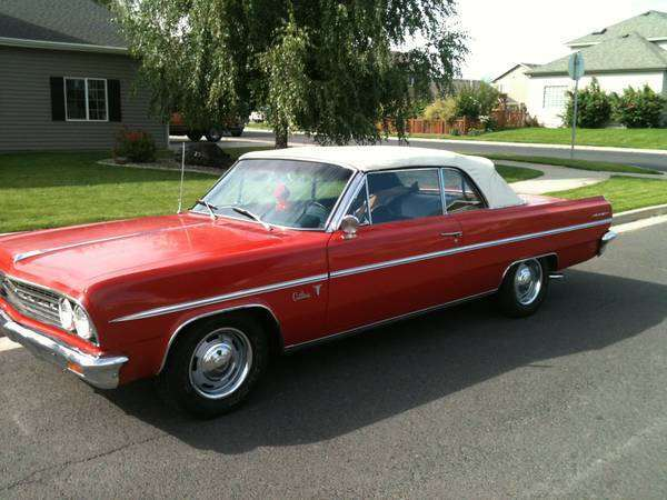 1963 Olds Cutlass Convertible Spokane Wa