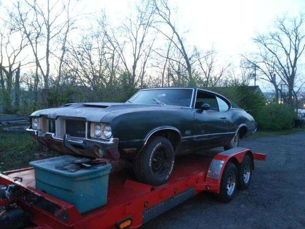 1971 Olds Cutlass 442 Project