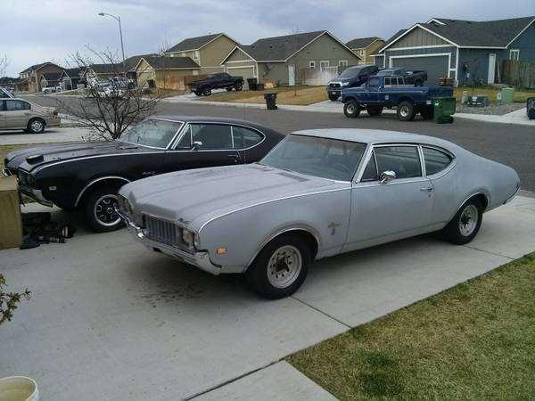 Cutlass Project Car For Sale