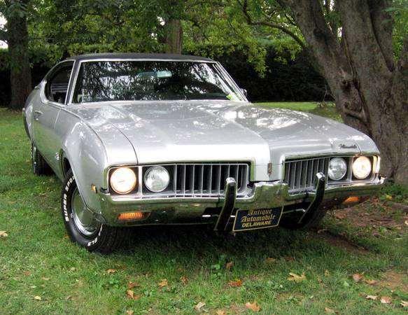 1969 Olds Cutlass Supreme Original Owner