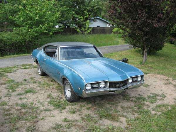 Original 1968 442