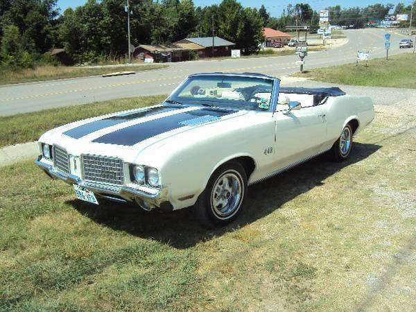 1972 Olds cutlass 442 Convertible (Mountain Home, AR) | OldsmobileCENTRAL.com