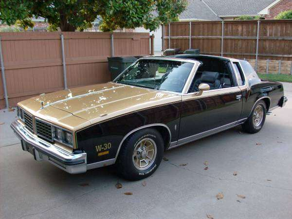 1980 Olds 442 W30
