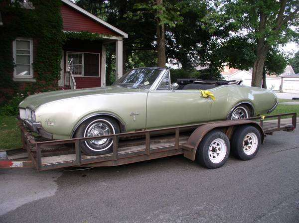 1968 Cutlass Convertible Parts Car