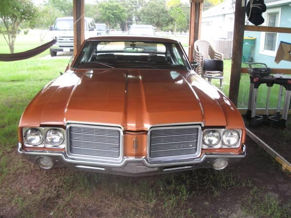 1971 Cutlass straight 6
