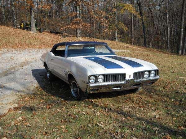 1969 Cutlass Convertible