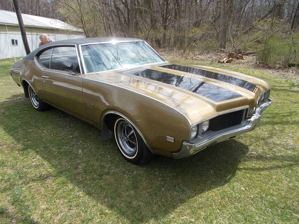 1969 Oldsmobile 442 2 Door Hardtop Coupe