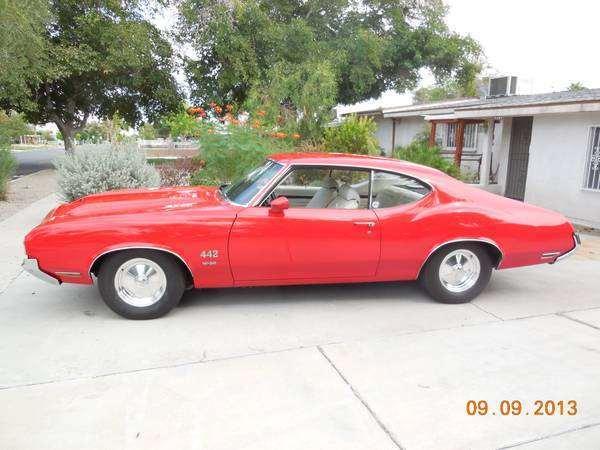 1970 442 W-30