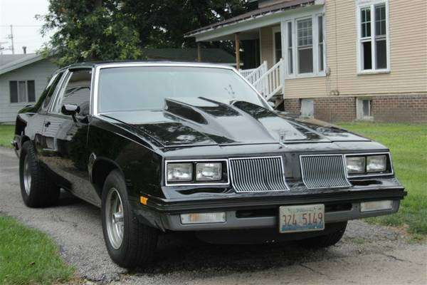 1985 cutlass 442 bog block bement il for 85 oldsmobile cutlass salon