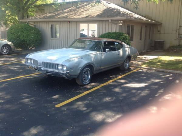 1969 Oldsmobile Cutlass S Coupe with W31 option