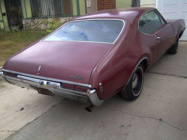 1968 Olds 442 with Turnpike Options