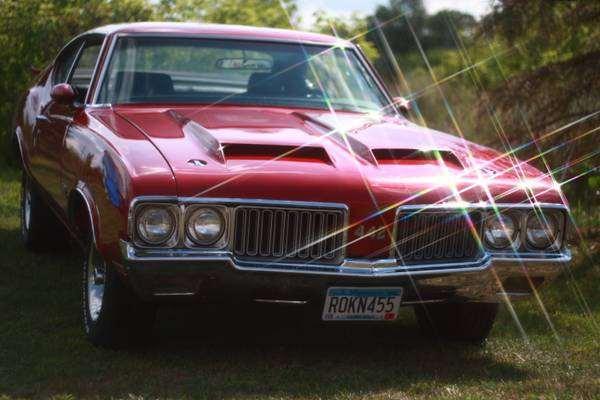 1970 Oldsmobile cutlass (442 clone-w30 tribute)