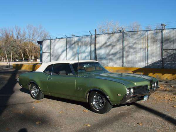 1969 Oldsmobile 442 Convertible Low Miles